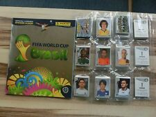 Panini World Cup 2014 Coupe du monde 14 * Swiss Platinum COMPLETE SET * EMPTY ALBUM + p1-p20