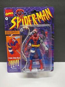 "IN HAND Marvel Legends RETRO CYBORG SPIDER-MAN Series 6 "" Figure Hasbro TARGET"