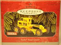 Hallmark - Tonka Road Grader - 1998 - Keepsake Ornament