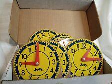 Vintage Judy Instructo Mini Clock Original 209041 Set 11