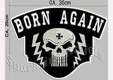 Born Again dos écusson patch
