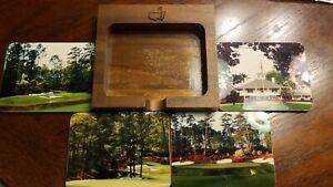 Masters Golf Tournament Coaster Set of 4