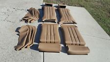 BMW E30 325i 318i 325is SPORT SEATS LLAMA LEATHER UPHOLSTERY KIT NEW BEAUTIFUL