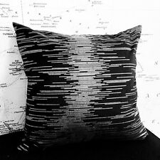 50cm High Quality Large Cushion Cover Bedroom Car Home Decor Black Silver