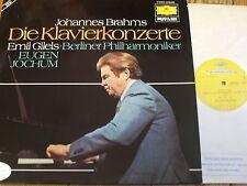 2726 082 Brahms The Piano Concertos / Gilels / Jochum 2 LP set