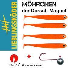 12,5 cm DORSCHMAGNET - SET LK Möhrchen + VMC BAITHOLDER 6/0 95 g 4+2