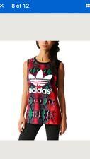 RITA ORA  Adidas soccer Top T-SHIRT VEST UK 12  vest tank top BNWT