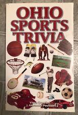 Ohio Sports Trivia by Vince Guerrieri; J. Alexander Poulton