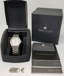 Tag Heuer Professional 2000 Series Date WK1111-1 Quartz Watch Stainless Steel