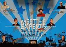 Pawn Stars Meet The Experts Signed 12x17 Color Poster 7 Autographs COA