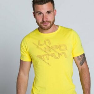 70% OFF RETAIL La Sportiva Sliced T-Shirt Men climb hike etc. MULT COLORS, SIZES
