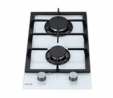 MILLAR GH3020TW 30cm Built-in 2 Burner Domino Gas on Glass Hob with FFD