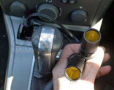12v coche furgoneta Twin Doble de extensión de adaptador de encendedor de cigarrillos