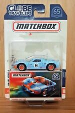 MATCHBOX 2018 65th Anniversary GLOBE TRAVELERS FORD GT40 (A+/*A+)
