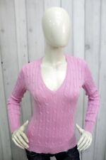 RALPH LAUREN Donna Taglia S Maglione Sweater Cotone Pullover Woman Maglia Pull