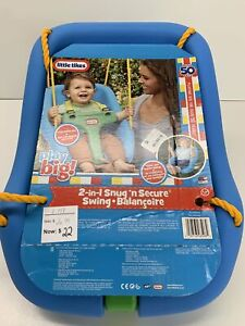 NEW IN PACKAGE Little Tikes 2-In-1 Snug & Secure Swing, 9-48M