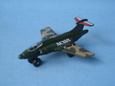 Matchbox Commando S2 Jet Green Unboxed Army Toy Model Plane 75mm