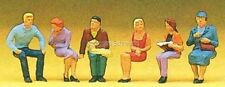 H0 PREISER 10095 seduti persone. figure. conf. orig.