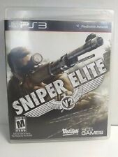 Sniper Elite V2 PS3 Complete FREE FAST SHIPPING