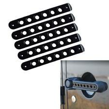 Black Jeep 4Door Grab Handle Bar Moulding Cover Trim For 07-18 Jeep Wrangler JK