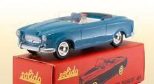 SOLIDO Série 100 Peugeot 403 Cabriolet 1959 Bleu Clair (avec conducteur)