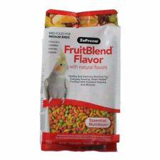 LM ZuPreem FruitBlend Flavor Bird Food for Medium Birds  14 oz