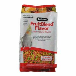 LM ZuPreem FruitBlend Flavor Bird Food for Medium Bir 14 oz