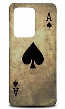 SAMSUNG GALAXY S SERIES PHONE CASE BACK COVER|ACE OF SPADES PLAYING CARDS