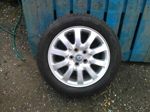 Jaguar X Type Alloy Wheel And Excellent 205/55r16 7mm Of Tread