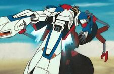 Mobile Suit Gundam Z Production Cels on Original Background 1985 Gundam Z Anime