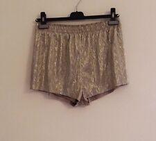H&M Shorts Dorati Taglia 38