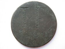 More details for australia convict token on george iii halfpenny 1796 liberty