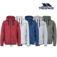 Trespass Odeno B Mens Knitted Marl Hooded Fleece