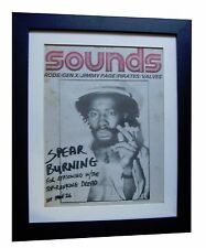 BURNING SPEAR+RARE+ORIGINAL+VINTAGE SOUNDS 1977+POSTER+FRAMED+FAST GLOBAL SHIP