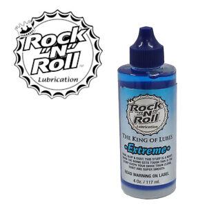 Rock-N Roll 4 oz Extreme MTB Blue Lube Dirt Shedding Properties