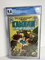 DC Kamandi, The Last Boy on Earth #14 Feb 1974, CGC Certified 9.6 White Pages