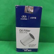 Genuine Hyundai Ix35 Diesel Oil Filters With Sump Plug Gaskets.