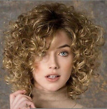 New Fashion sexy Women's ladies short Mix Natural Hair full wigs + wig cap