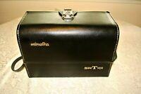 Vintage Leather Compartment Case for All Camera/ Minolta SRT 101/Canon/ Nikon