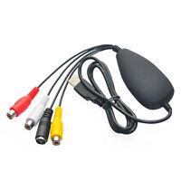 Captura grabadora convertidor S-Video a USB RCA compuesta para PC PS3 Xbox L3I4