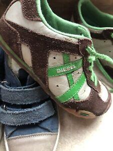 Boys Designer Shoe Trainer Bundle Infant 28 10 Diesel