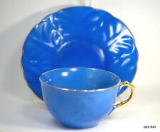 Vintage Fine China Made in Japan by Gold Castle Dainty Blue Cup and Saucer