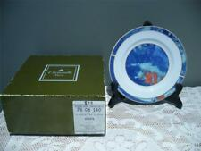 SET OF 6 VINTAGE SIDE / BREAD PLATES IN BOX - CHRISTOFLE - ALIZES - FRANCE - VGC