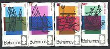 BAHAMAS 272-75 SG315-18 MNH 1968 Tourist Publicity set of 4 Cat$10