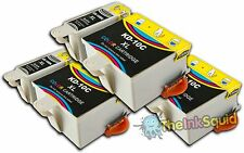 6 Compatible Kodak 10 Ink Cartridges (K10BK & K10C) for Easy share ESP 9 Printer