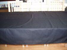 BLACK COTTON BLEND, RECTANGULAR TABLE CLOTH                   70ins x 48ins