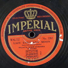 78rpm DIXIE MARIMBA PLAYERS lazy lou`siana moon / there`ll never be another mary