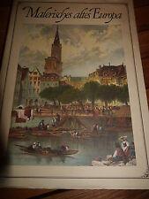 Malerisches altes Europa ca. 1820-1850 tw.farb.Aufnahmen Buch v. 1970