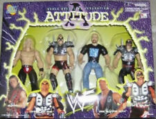 WWF Jakks Attitude Steve Austin Shawn Michaels Legion Of Doom 2000 Hawk Animal