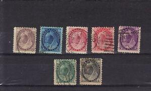 P3149 - CANADA 1898 - VITTORIA - LOTTO USATI